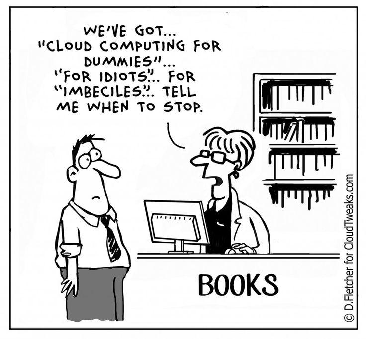 cloud computing technology comic