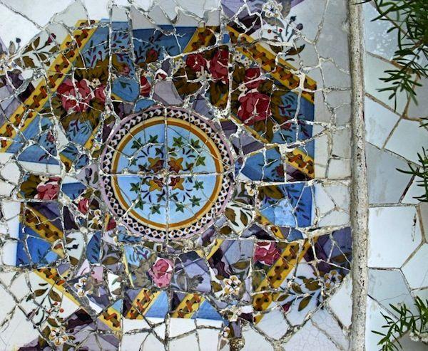 Gaudis Park Guell Photo Gallery Antonio Gaudi Pinterest