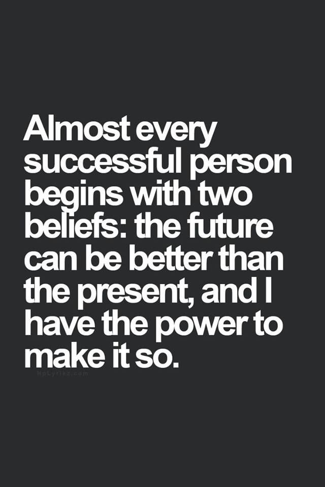 Almost every successful...