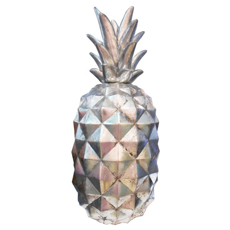 Pineapple decor pineapples pinterest for Ananas dekoration