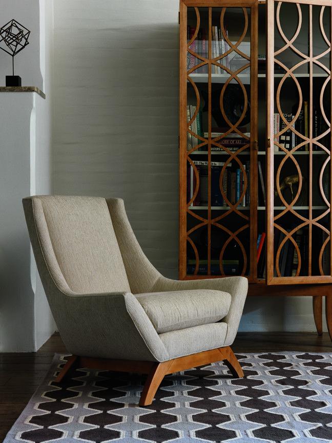 dwell studio gate armoire and jensen chair