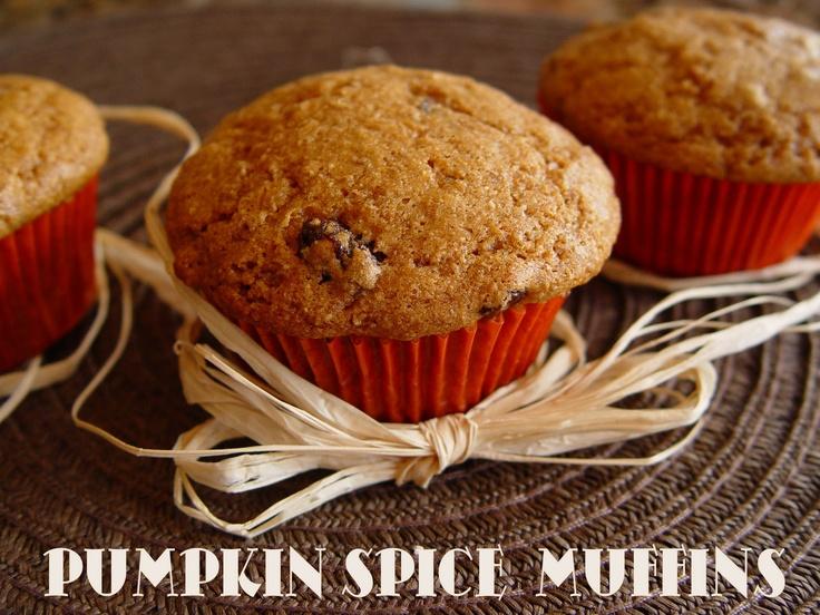 Pumpkin Spice Muffins | Muffin Recipes | Pinterest