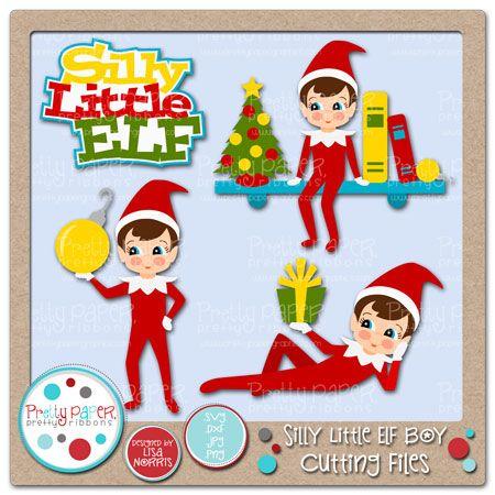 Silly Little Elf Boy Cutting Files