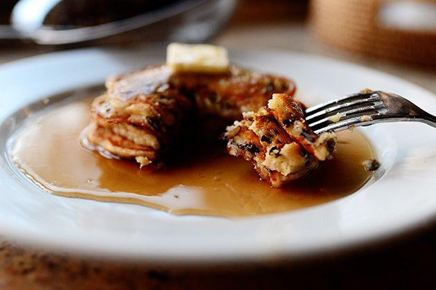 wild rice pancakes http://thepioneerwoman.com/cooking/2012/11/wild ...