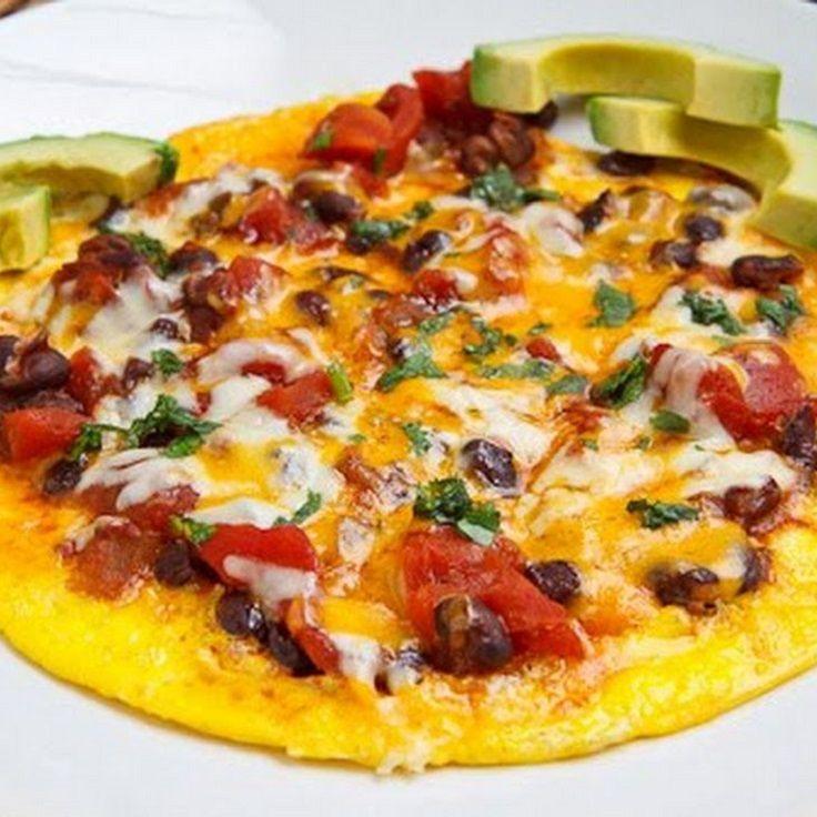 Black Bean Chili Omelette | Tasty Snacks | Pinterest