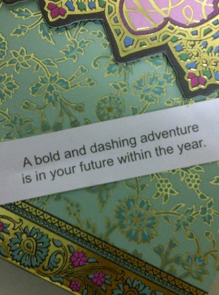 A bold and dashing adventure is in your future within the year.