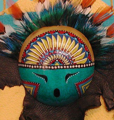 native american apache gourds pinterest