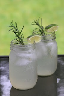 Sparkling Rosemary Lime Cocktail | Cocktail Recipes | Pinterest