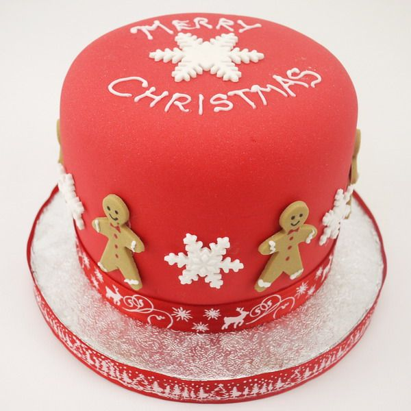 Christmas Gingerbread Man Cake | decorated sweets | Pinterest