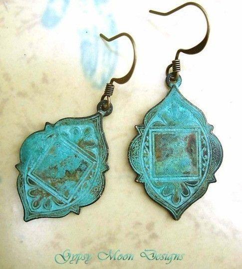 Ethnic Patina earrings