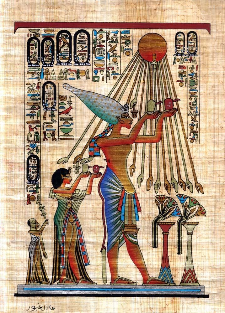 Pin by on paintings on wallmonkeys pinterest for Egyptian wall mural
