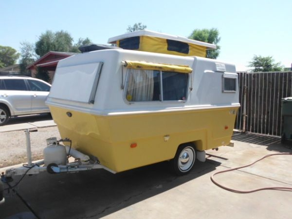 1973 Hunter Compact II travel trailer | Teardrop and other ...