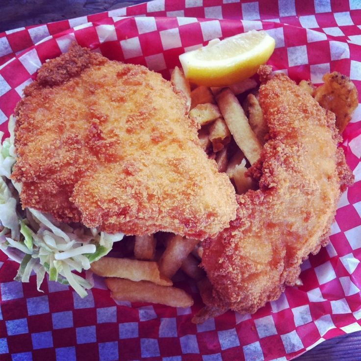 Panko crusted fish chips yummy food pinterest for Panko fried fish