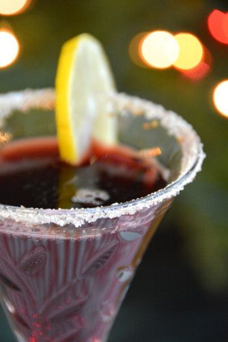 Pomegranate Cosmo Cocktail | yummy food | Pinterest