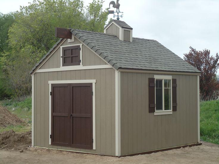 22 fantastic storage sheds utah for Detached garage utah