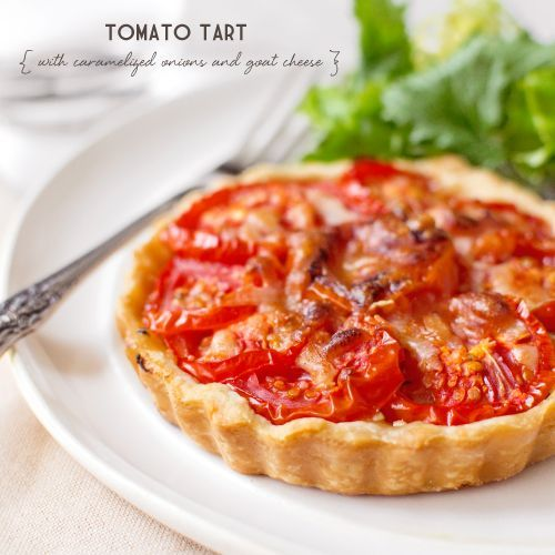 Tomato, Caramelized Onion & Goat Cheese Tart | Recipe