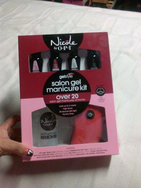 Nicole by Opi gel manicure set, sams club
