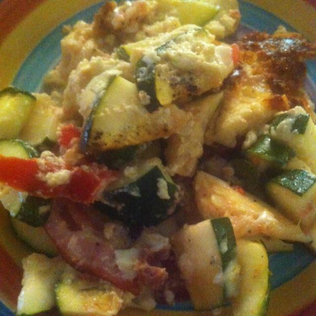 Zucchini breakfast casserole | BREAKFAST | Pinterest