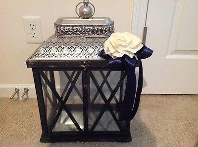 Wedding Gift Card Holder- Lantern Cage