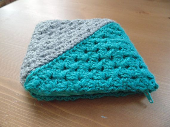 Crochet Zipper Join : Crochet Case with Lining and zipper by NaaraCrochet on Etsy, $16.00