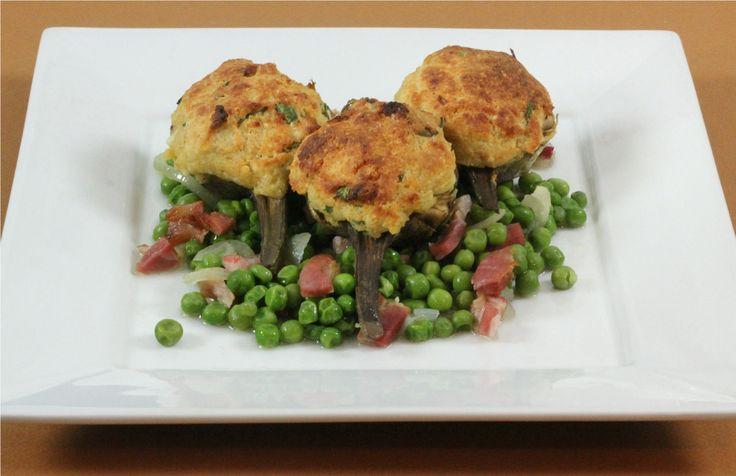 Nonna's Stuffed Artichokes | Veggies, My Way | Pinterest
