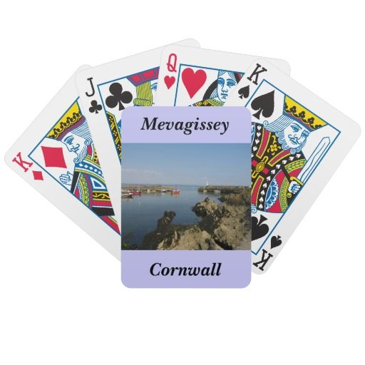Comwall Design Decals : Mevagissey - Cornwall Playing Cards  vivek  Pinterest