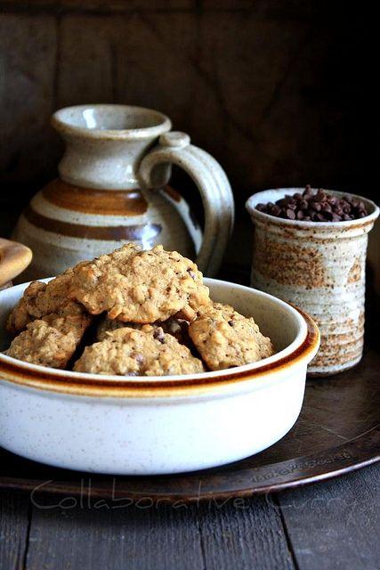 Banana Oatmeal Chocolate Chip Cookies. ! | Cookies | Pinterest
