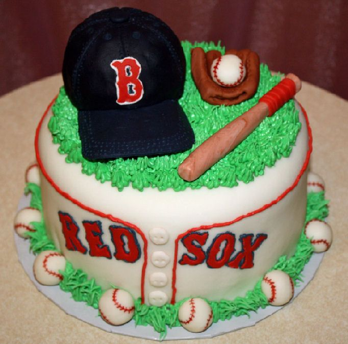 Red Sox Cake Images : Red Sox Birthday Cake Boston Red Sox Pinterest