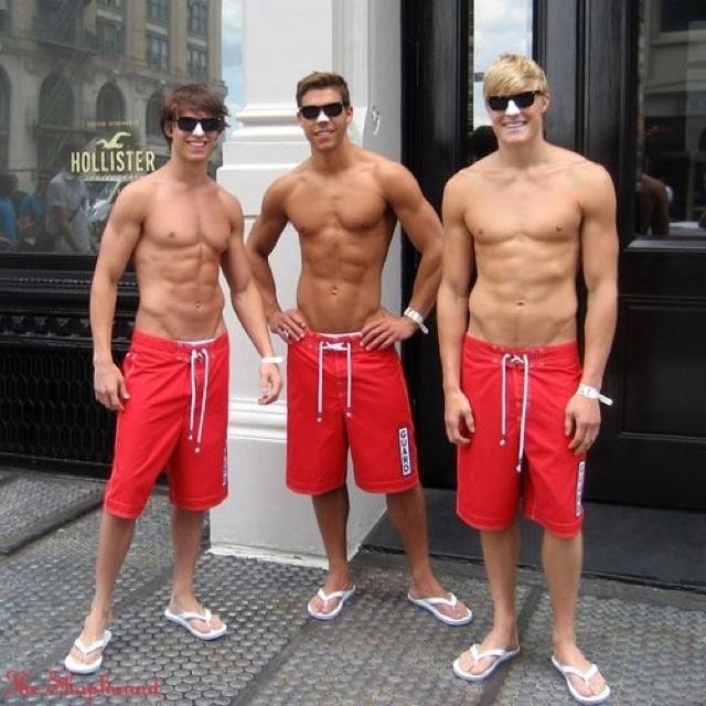 Hollister models(: