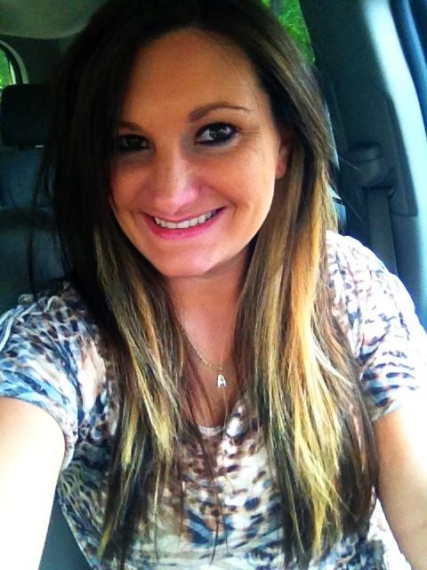 brown hair with blonde underneath peekaboo highlights