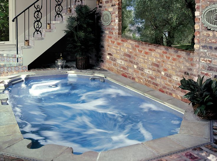 In ground hot tub for Inground pool designs and prices