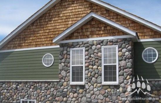 by kodiak mountain stone on river rock kodiak mountain stone