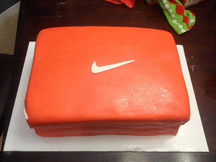 Nike Shoes Cake Design : Nike shoe box cake:) Janette s cake creations Made by ...