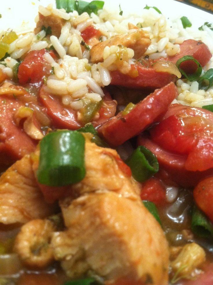 Chicken Sausage Gumbo | Gumbo and Jambalaya | Pinterest