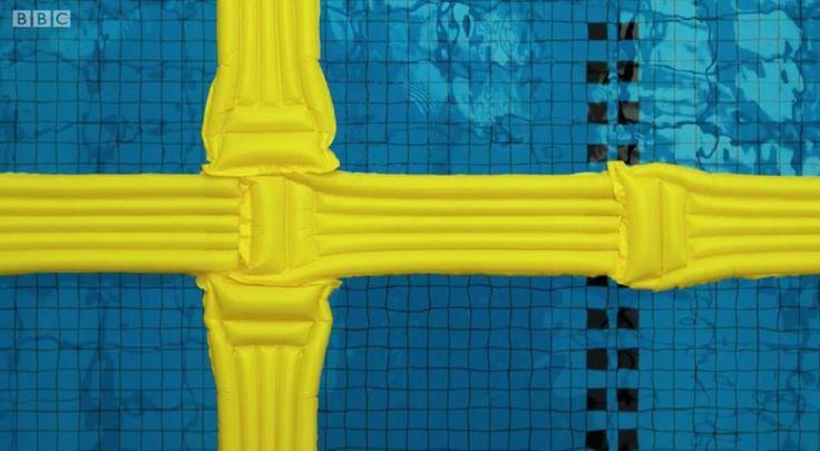 norway eurovision flag