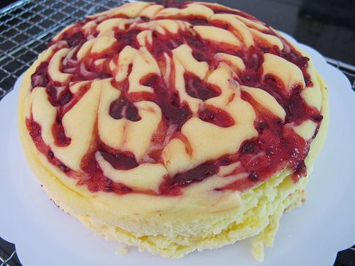 Raspberry marble cheesecake | Recipe i'm going to make | Pinterest