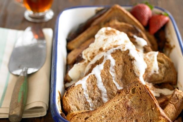 Baked Strawberry-Rhubarb French Toast (Photo courtesy of Heath Robbins ...