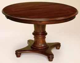 Amish round pedestal dining table house house house stuff pin
