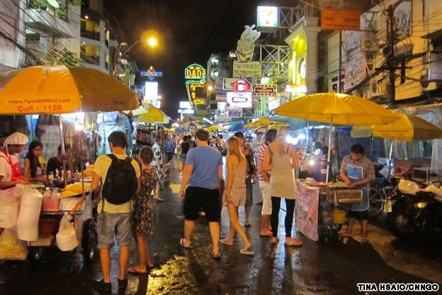 Best bangkok night markets for Antique thai cuisine san diego