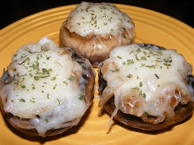 The Recipe Review: French Onion Soup Stuffed Mushrooms