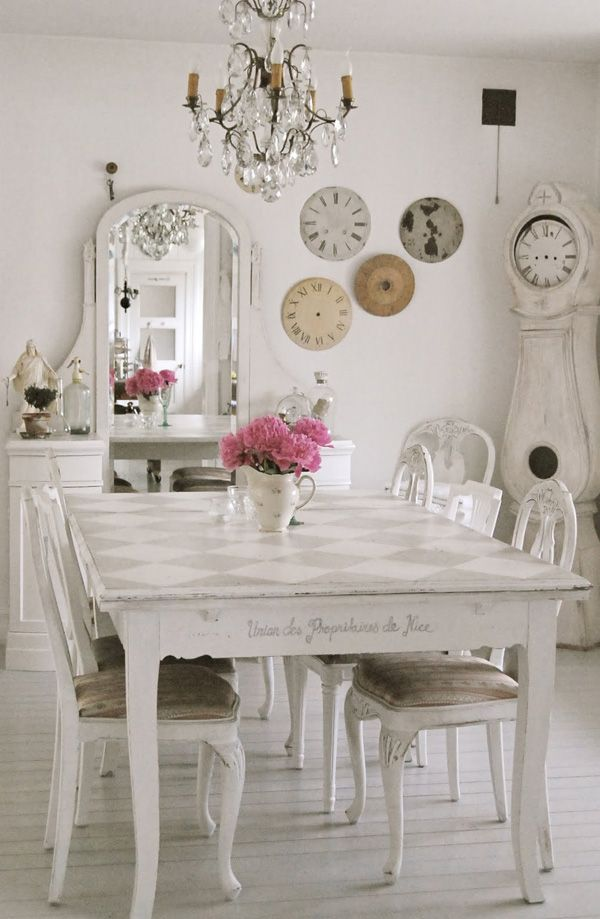 Shabby chic dining room shabby chicness pinterest - Shabby chic dining rooms ...