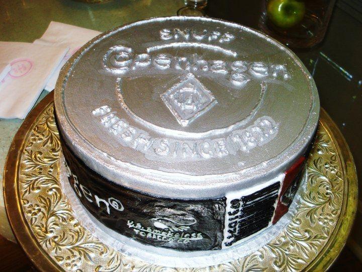 Skoal Frost Redneck skoal wedding cake
