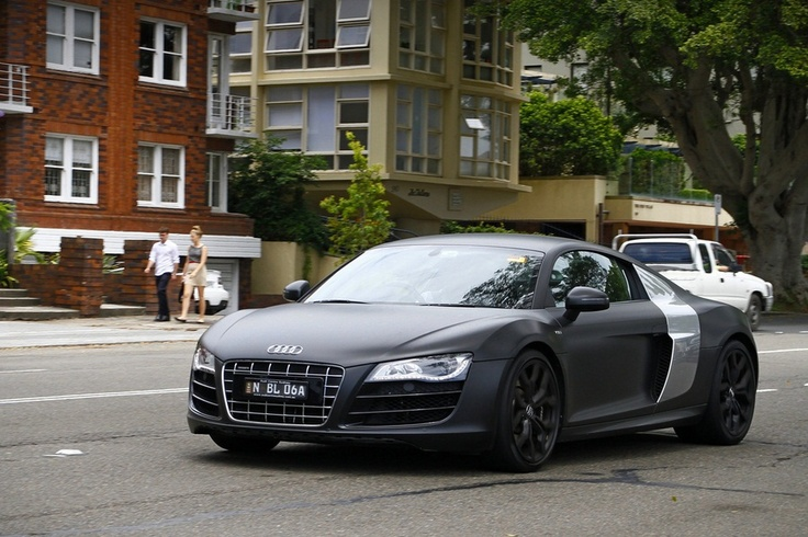 Audi R8 V10 Matte Black | Audi R8, My Dream Car | Pinterest