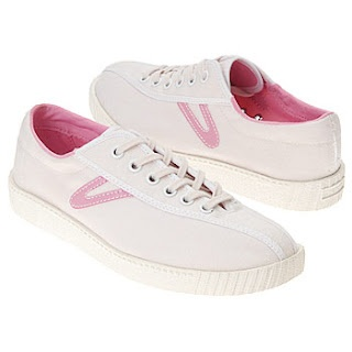Tretorn! The must-have shoe! I had pale yellow & blue w/little red