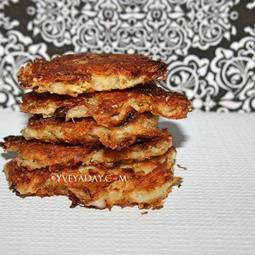 Easy Potato Latkes from Oyveyaday.com | Yummy! | Pinterest