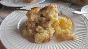 Apple Yogurt Cake With A Cinnamon-Sugar Streak Recipe — Dishmaps