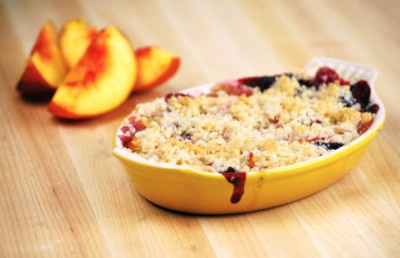 Nectarine-Blackberry Crisps | Food | Pinterest
