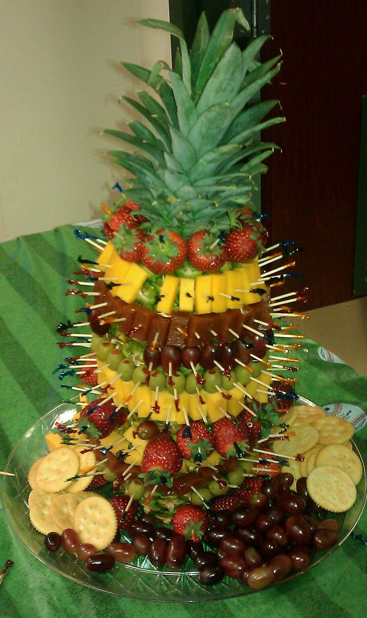 Tropical party antojitos luau pinterest for Appetizer decoration