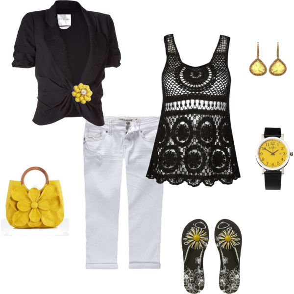 Summer, created by cbaczuk on Polyvore