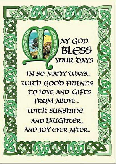 gaelic sayings blessings